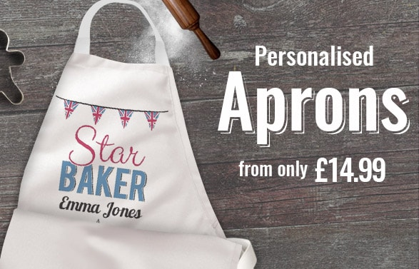 3713d8d0024a Personalised Aprons | Unique Novelty & Printed Aprons