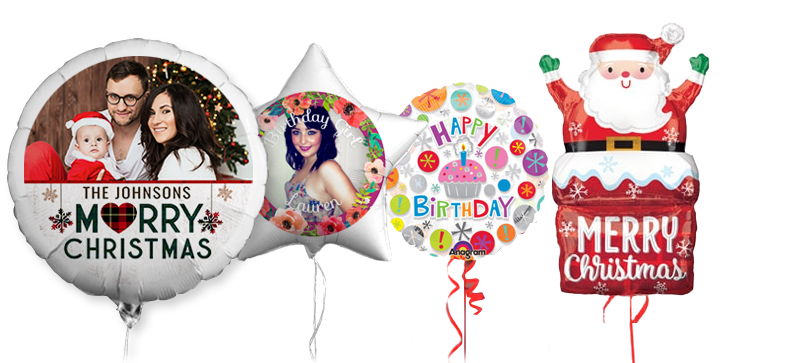 Unique Personalised Balloons | Helium Foil Balloon Delivery