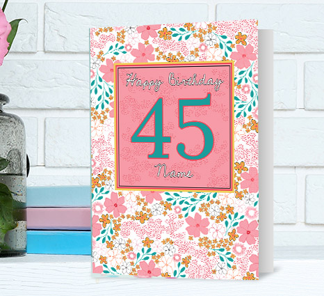 Special Age Birthday Cards for Her