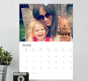 Pink 2020 A3 Poster Calendar 15/% OFF MULTI ORDERS!