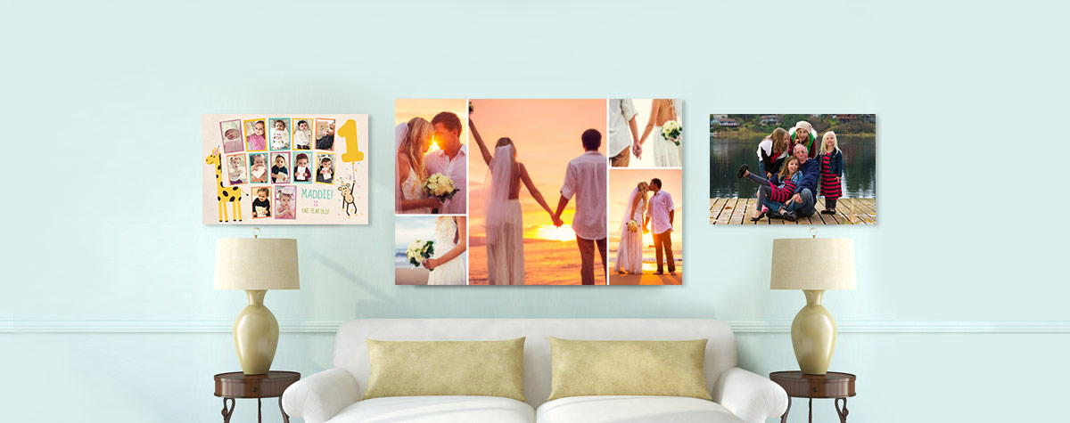 personalised canvas prints picture photo canvas