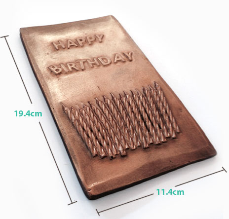 Chocolate Birthday Card