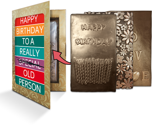 Birthday Chocolate Cards
