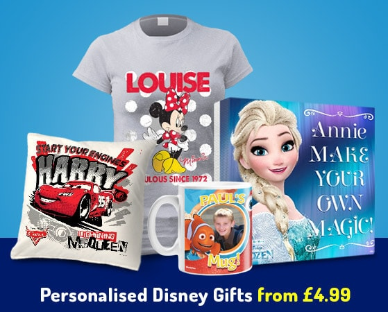 Personalised Disney Gifts