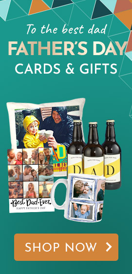Personalised Father's Day Cards & Gifts