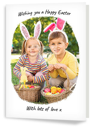 Photo Upload Easter Cards