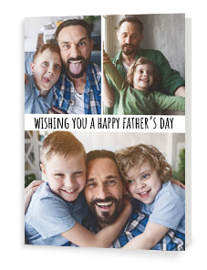 Photo Upload Father's Day cards
