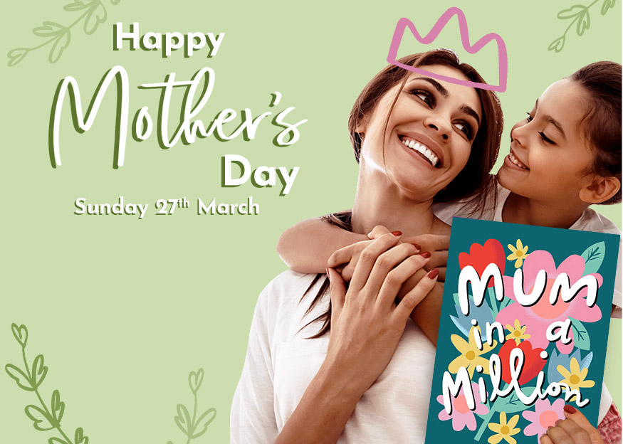 Personalised Mother's Day Cards and Gifts - From £1.99