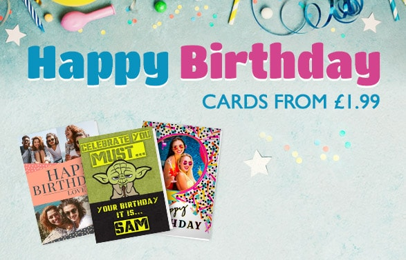 personalised birthday cards from 179
