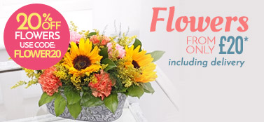 Flowers - From £19.99