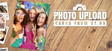 Photo Upload Cards - From £1.79