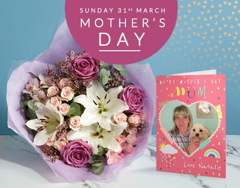 Personalised Mothers Day Cards Gifts
