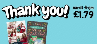 Thank You Cards - From £1.79