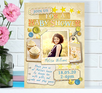 Personalised invitations unique party invites more baby shower invitation cards filmwisefo