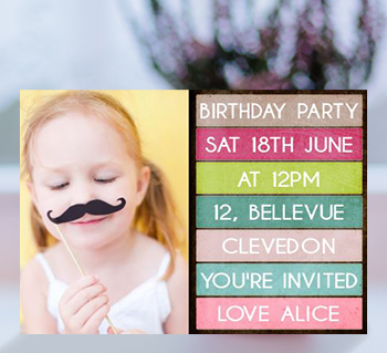 Personalised invitations unique party invites more all party invites create your own filmwisefo
