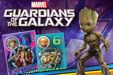 Marvel Guardians of the Galaxy greeting cards