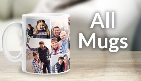 Personalised Mugs Unique Photo Custom Mugs