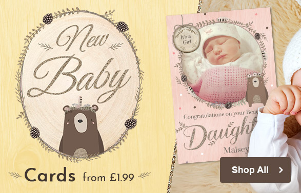 All New Baby Cards