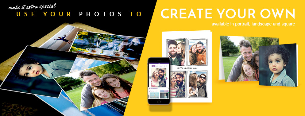 Create Your Own Photo Upload Cards
