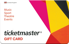 Ticket Master Gift Card