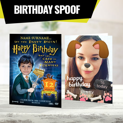 Birthday Spoof Cards