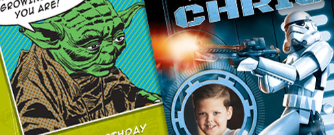 Star Wars - Birthday Cards
