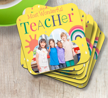 Thank You Teacher Coasters