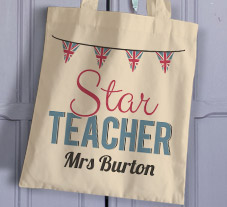 Thank You Teacher Tote Bags