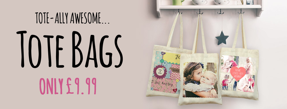 Personalised Tote Bags | Printed Canvas Tote Bags