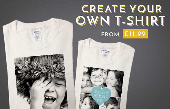 61dc7c8e Unique Personalised & Custom T Shirts | Create Your Own