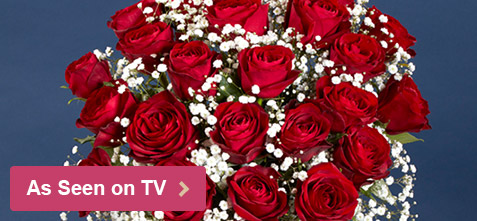 Valentine's Flowers As Seen On TV