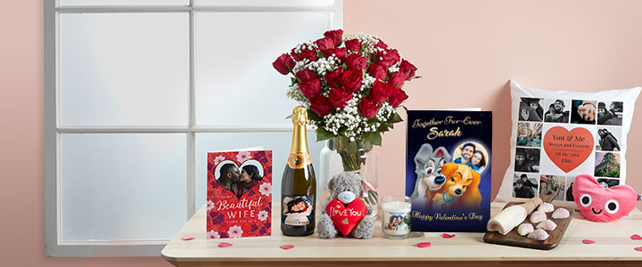 Valentines Gifts - Unique & Personalised | Funky Pigeon