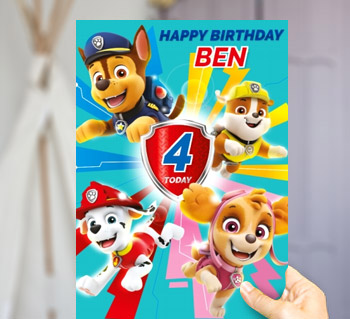 Buy send birthday cards personalised from 179 kids birthday cards bookmarktalkfo Gallery