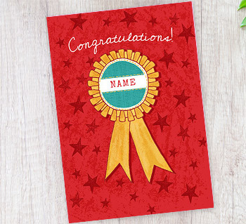 Personalised cards create a personalised card today exam cards m4hsunfo