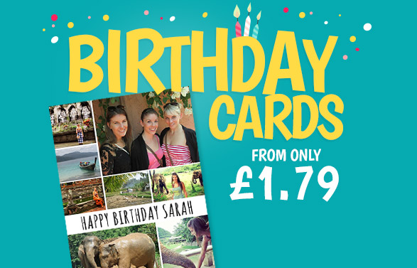 Birthday Cards - From £1.79