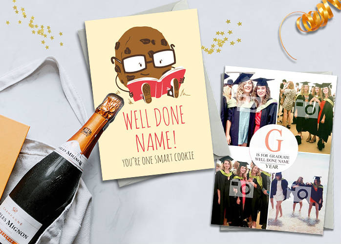 Graduation card covers
