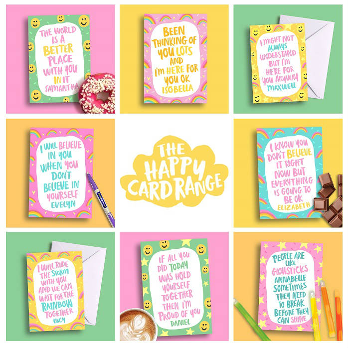 Happiness & Encouragement Cards