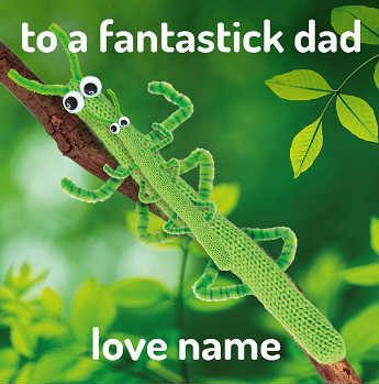 Fantastick dad father's day card
