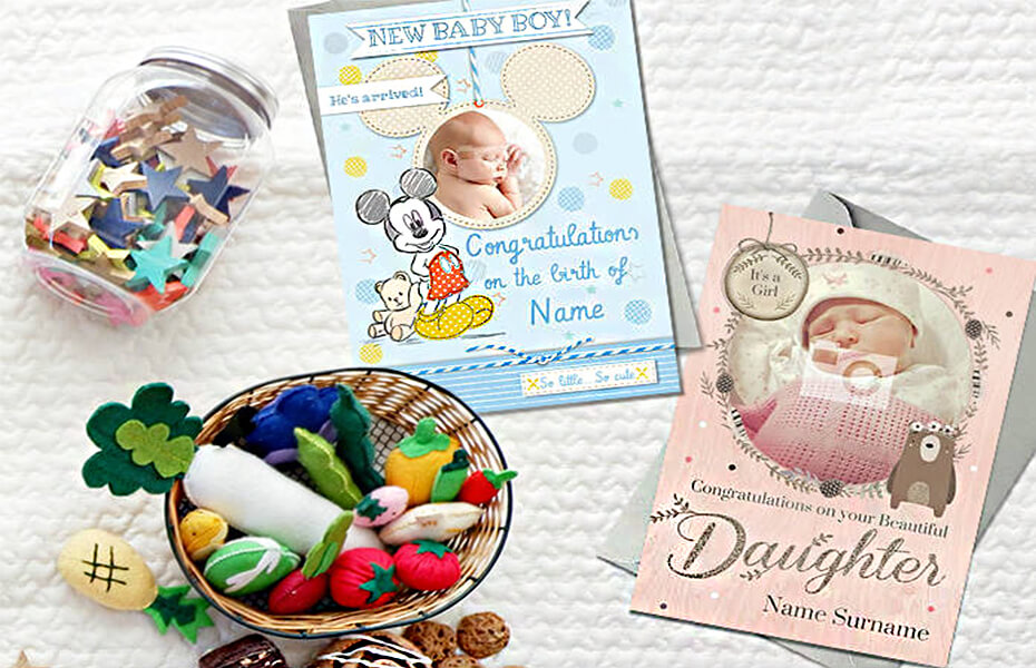 New baby cards what to say