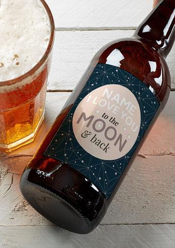 Valentine Day personalised beer