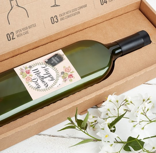 Mother's day wine letterbox