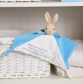 Peter Rabbit baby conforter