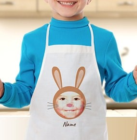 Personalised Easter Apron for kids