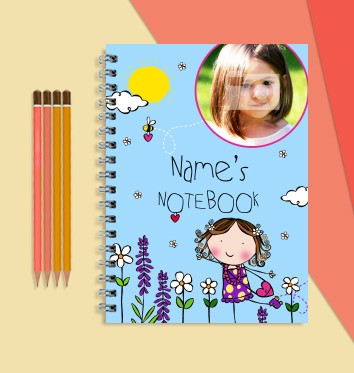 Personalised Easter Notebooks for kids