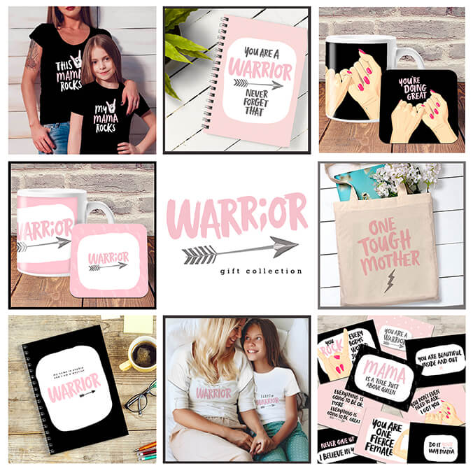 Warrior Mum Gifts range