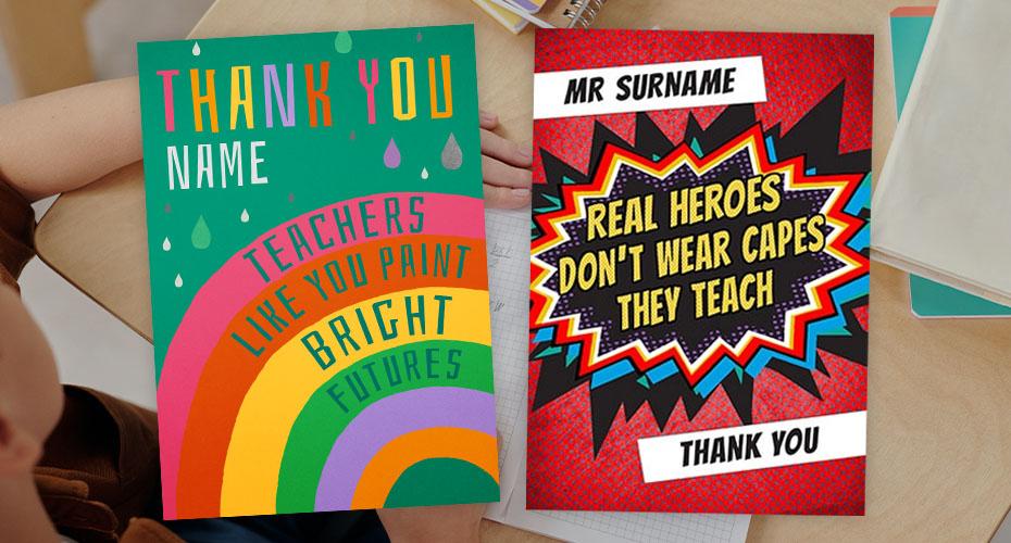 Thank you so much for this year Teacher/'s card Thank you card For teacher To say thank you For children/'s teacher