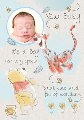 Newborn Fun New Baby Card Gender Neutral Boy Girl New Baby card GC94 WOOHOO Bright and Cheerful Congratulations on your new baby!
