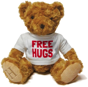 Henry Non Personalised Bear - Free Hugs