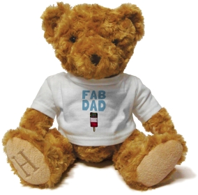 Henry Non Personalised Bear - Fab Dad £ 14.99