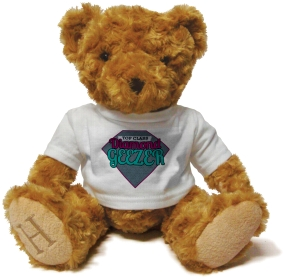 Henry Non Personalised Bear - Top Class, Diamond Geezer